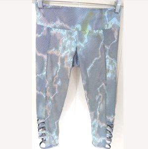 Onzie Watercolor Weave Capri Leggings
